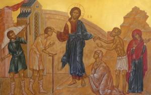 Jesus Healing Crowds